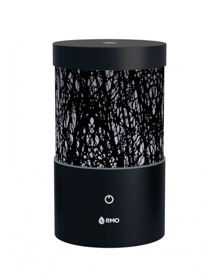 Black essential oil diffuser
